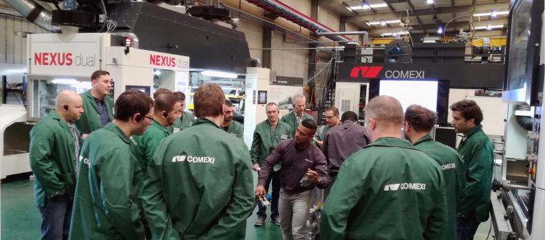 El Centre Tecnològic Manel Xifra Boada programa un nou curs d'impressió flexogràfica en alemany per al 2018