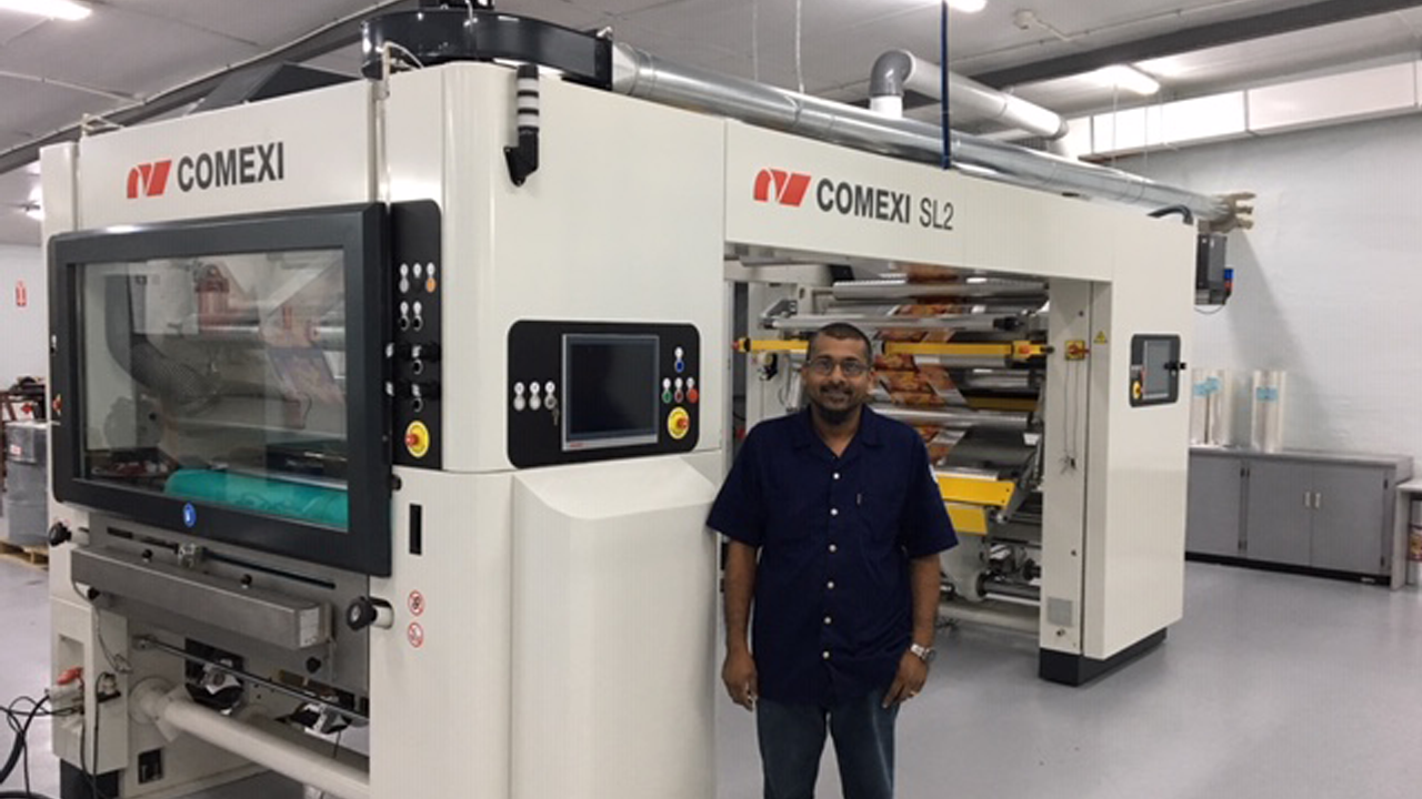 Comexi CTec Assists One Caribbean Flexipac in Positioning Itself as the Leader of the Flexo Industry in Trinidad and Tobago