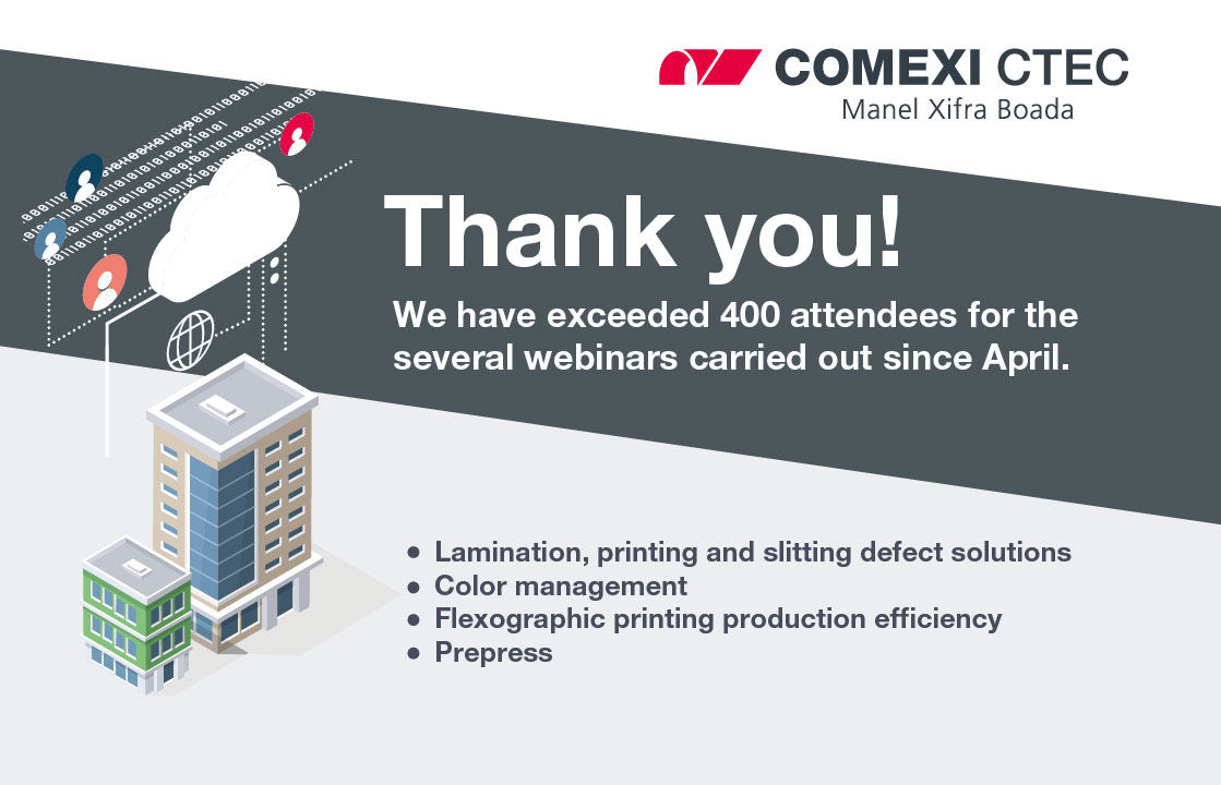 Comexi CTec Exceeds 400 Attendees for Online Training Launched in April