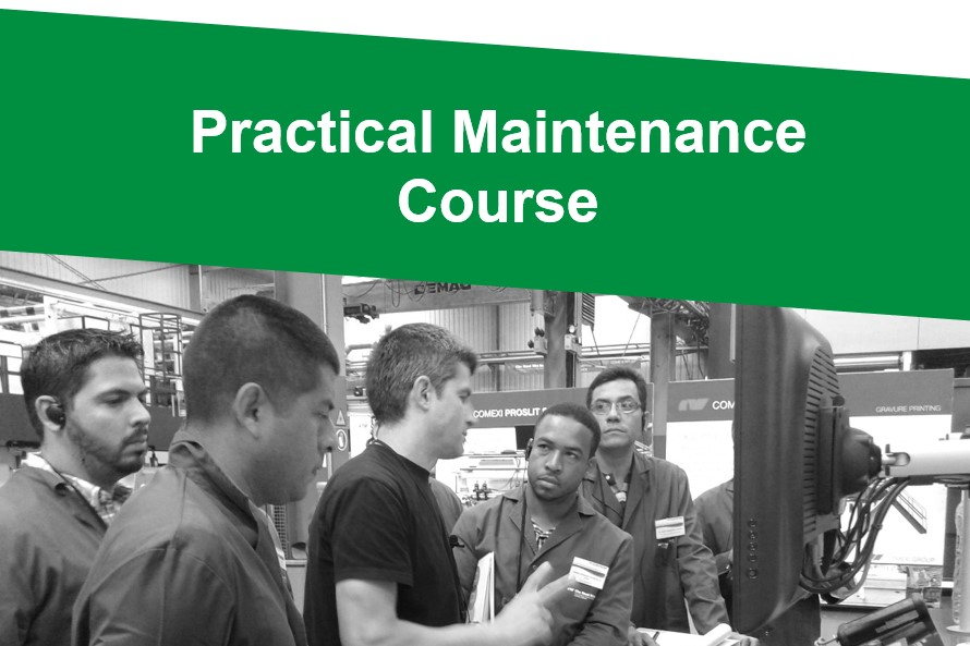 Practical Maintenance Course. Flexographic printing press, laminating and slitting machines. – 14th edition