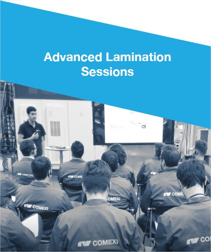 Advanced Lamination Sessions – 17th edition