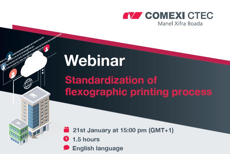 Webinar: Standardization of flexographic printing process