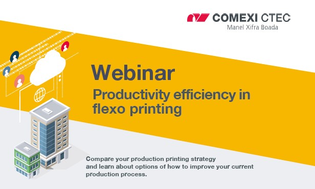 Webinar: Productivity efficiency in flexo printing (USA)