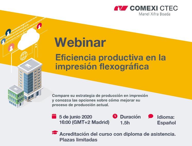 Webinar: Eficiencia productiva en la impresión flexográfica
