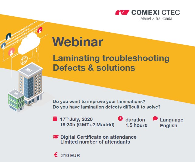Webinar: Laminating troubleshooting. Defects & solutions.