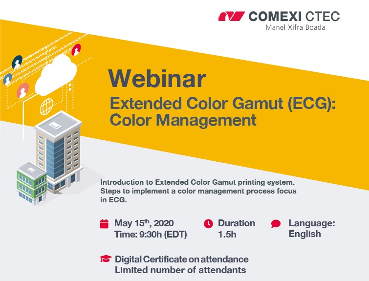 Webinar: Extended Color Gamut (ECG): Color Management (USA)