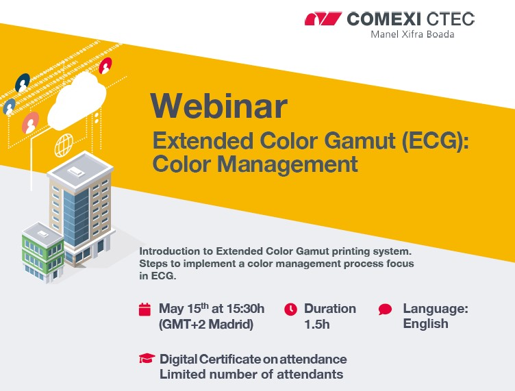 Webinar: Extended Color Gamut (ECG): Color Management (Europe)