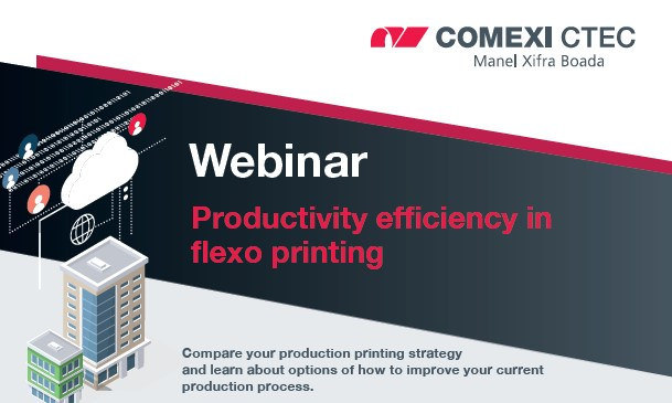 Webinar: Productivity efficiency in flexo printing