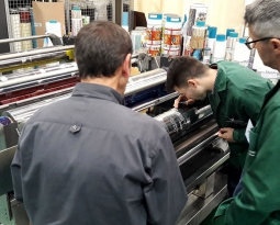 Èxit en la primera edició del curs avançat d'impressió en rotogravat
